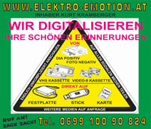 Elektro Emotion  <br> Inhaber Kurt Kramberger